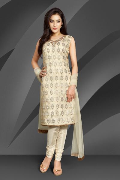 Skin Tight Churidars, Silk Shining Churidars for Modern Girls 2011, pakistani designer clothes