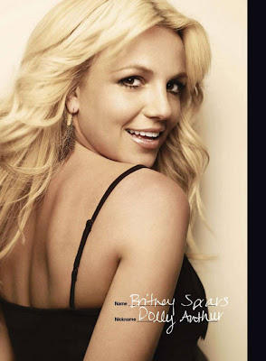 britney spears magazine