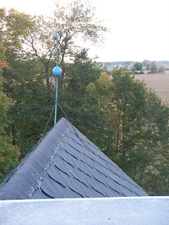 Old Victorian House Roof Amp Lightning Rod Repair