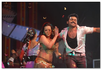 Karthi and Remasen in Star Night