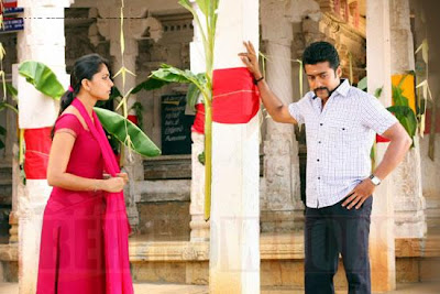 Surya and Anuska Singam still