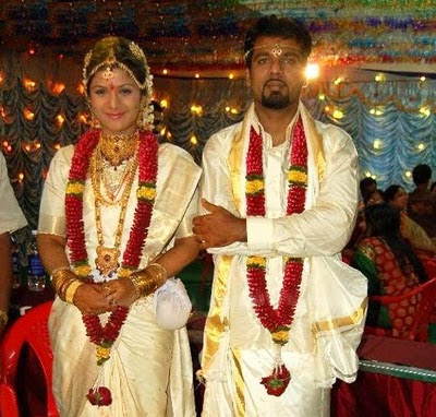 Ramba and Indira Kumar wedding photo