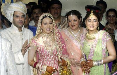 Karisma marriage photo