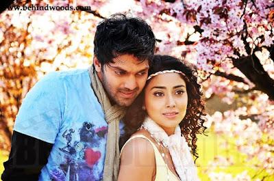 Arya and Shriya hot in Chikku Bukku film stills