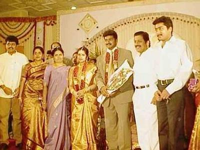 Tamil Actor Vijay Family
