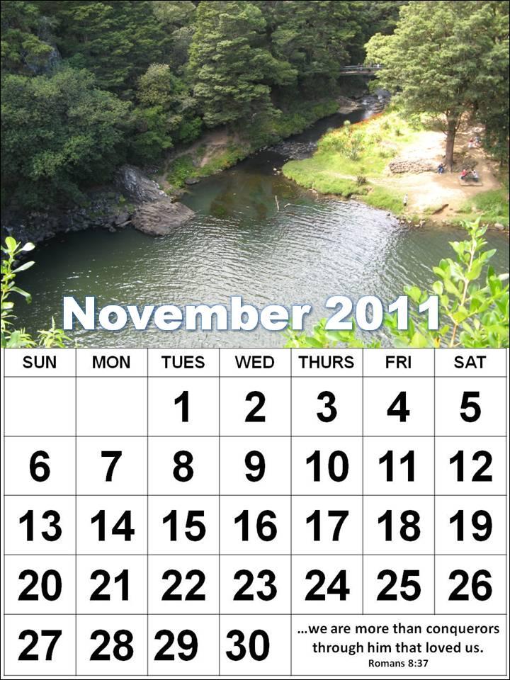 november calendar 2011. 2011 november calendar.