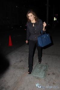 Eva Longoria Parker Stills Carries Her Hermes Birkin