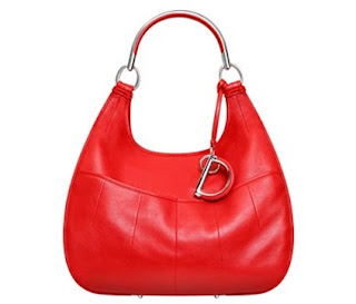 Christian Dior Large Red Dior 61 bag