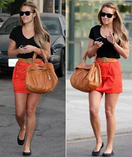 Lauren Conrad with Marc by Marc Jacobs Mr.Q Remy Handbag