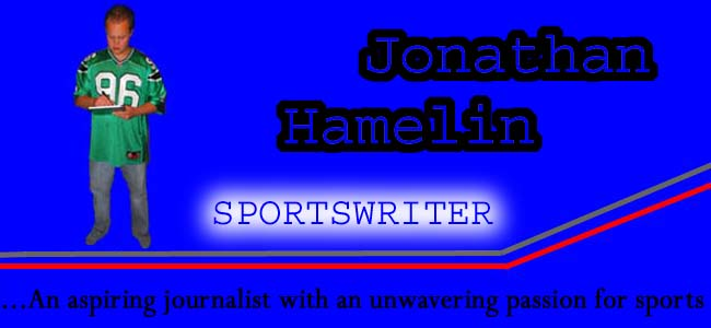 Jonathan Hamelin Sports Writer