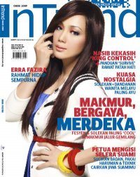 TUDUNG FAREEDA NOW IN INTREND MAGAZINE