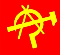"A circulated own anarchist movement with the hammer and sickle of Bolshevism, anarchism, anarchist, anarchists, such as Marxism, Communism Libertarian, ignorance,Of what happens when you do not learn.  For some time this part are mainly online, a number of symbols associated with libertarian communism product of ignorance of some members, such symbols combine to own the anarchist movement circulated with the sickle and hammer of Bolshevism, which can only come from ignorance of libertarian communism both as Marxism. A sample of the symbols:   A circulated own anarchist movement with the hammer and sickle of Bolshevism, anarchism, anarchist, anarchists, such as Marxism, Communism Libertarian, ignorance Imagen These symbols are not libertarian communism (or anarcho-communism), let's see why. 1-The Libertarian Communism have as a parent to little known Italian anarchist Carlo Cafiero (1846-1892). In his book Anarchy and Communism, written in 1880, a revision to the collectivism of Bakunin, claiming that the theory of labor value (society is obtained from the proportional to what has been produced, which, means of production are collective, but the produce is individual) would produce an unequal society, with class distinctions (between skilled and awkward), undesirable for anarchism. Later Peter Kropotkin (1842-1921) met Cafierto and matured his ideas. Postings in 1892 The Conquest of Bread, key work that would define libertarian communism, showing a society based on the principle of need (I produced is distributed according to need, as communal being both the means of production as the products themselves, which achieves a totally egalitarian society). Libertarian communism is opposed to the dictatorship of the proletariat itself of Marxism as a point to reach egalitarian society, like the rest of the anarchist movement.  Libertarian communism is therefore a branch of anarchism, anarchist product of thought, not a synthesis of Marxist theory. In fact, it does not incorporate any of Marxist theory, as it defends the labor value and the existence of money in the early stages of socialism, something that is not shared with libertarian communists.  The 2-circle-symbol was not used by the anarchist movement until the late 1960s. The symbol of the hammer and sickle began to be used by the Bolsheviks (Marxist) Russians in 1917, symbolizing the revolution uniting peasants and workers. Both symbols are as much after the birth of libertarian communism. The symbols found above are the product of people who, knowing the origins of libertarian communism, thinking it was the synthesis of anarchism and Marxism, have decided to create a symbol that represents a misconception.  The 3-libertarian communism name comes from the synthesis, but the opposition, often being called Marxism by anarchists as ""Authoritarian Communism"".  4-Nor is the synthesis of communism and anarchism Maxismo theory known as Libertarian, since this theory defends the dictatorship of the proletariat, though, giving less importance to the game and more to groups and workers councils, forming structures libertarian (but not antitautoritarias, as in the case of anarchism). Marxism is therefore a branch of Marxism Libertarian that has nothing to do with anarchism.  From all this it follows that the symbols seen before are fruits of error and ignorance as to the theory which claims to defend, or at least, in terms of knowledge about the history of the theory. Avoid Pot draw things this way.  Libertarian Communism has no symbols themselves, although often used the classic symbols of anarchism (The black flag, the circle-, black star), or anarcho-syndicalism (rojinegra iconography)."