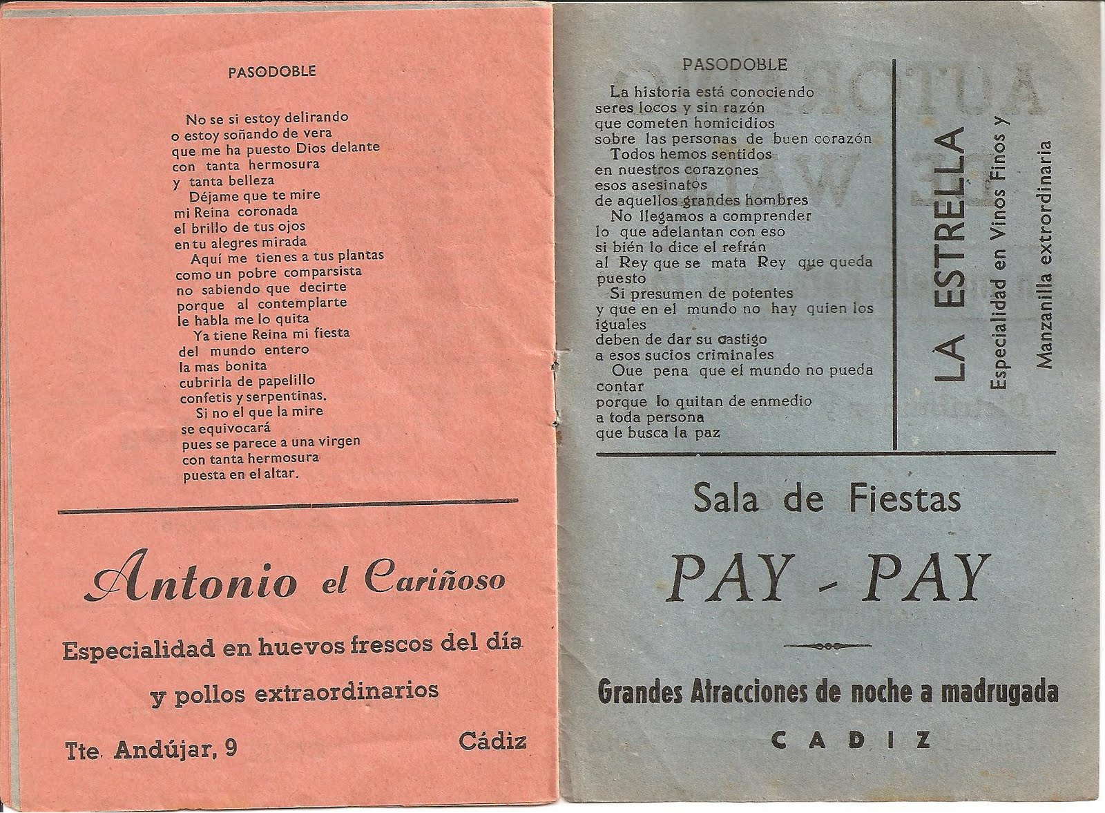 Mis libretos de carnaval mayo 2010 - Muebles gil martin ...