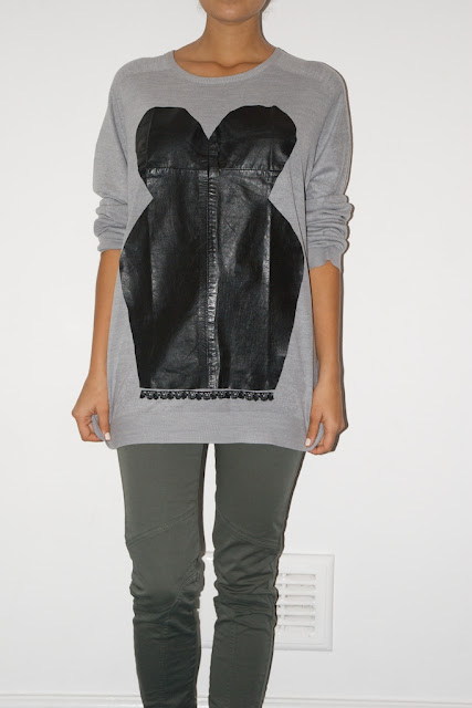 Diy Weekly Markus Lupfer Inspired Leather Corset Top A