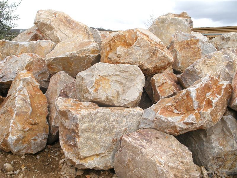 Krc rock september 2010 for Landscaping rocks quartz