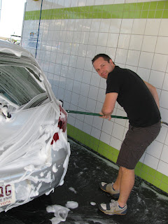 Gday eh car wash we hit one of the million self car wash places here in melbourne and this total hottie washed our carhello what sexy lady snagged that cutie solutioingenieria Image collections