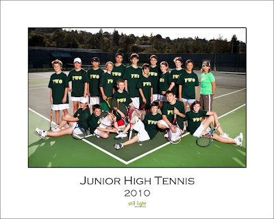 Pinewood High School Los Altos Tennis by Still Light Studios