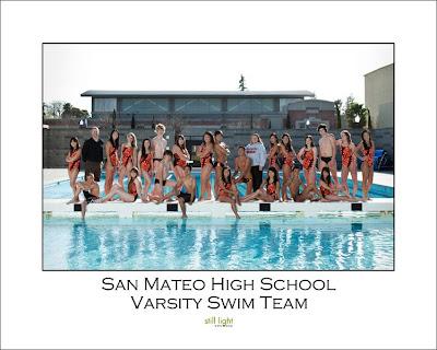 San Mateo High School San Mateo Swimming by Still Light Studios