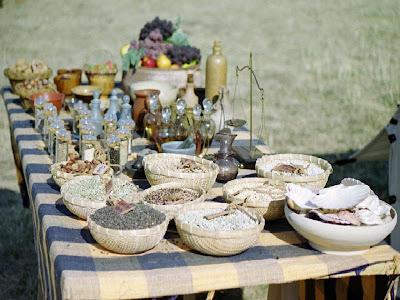 Ustensiles de Cuisine Romaine