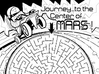 Mars coloring pages Hellokids.com