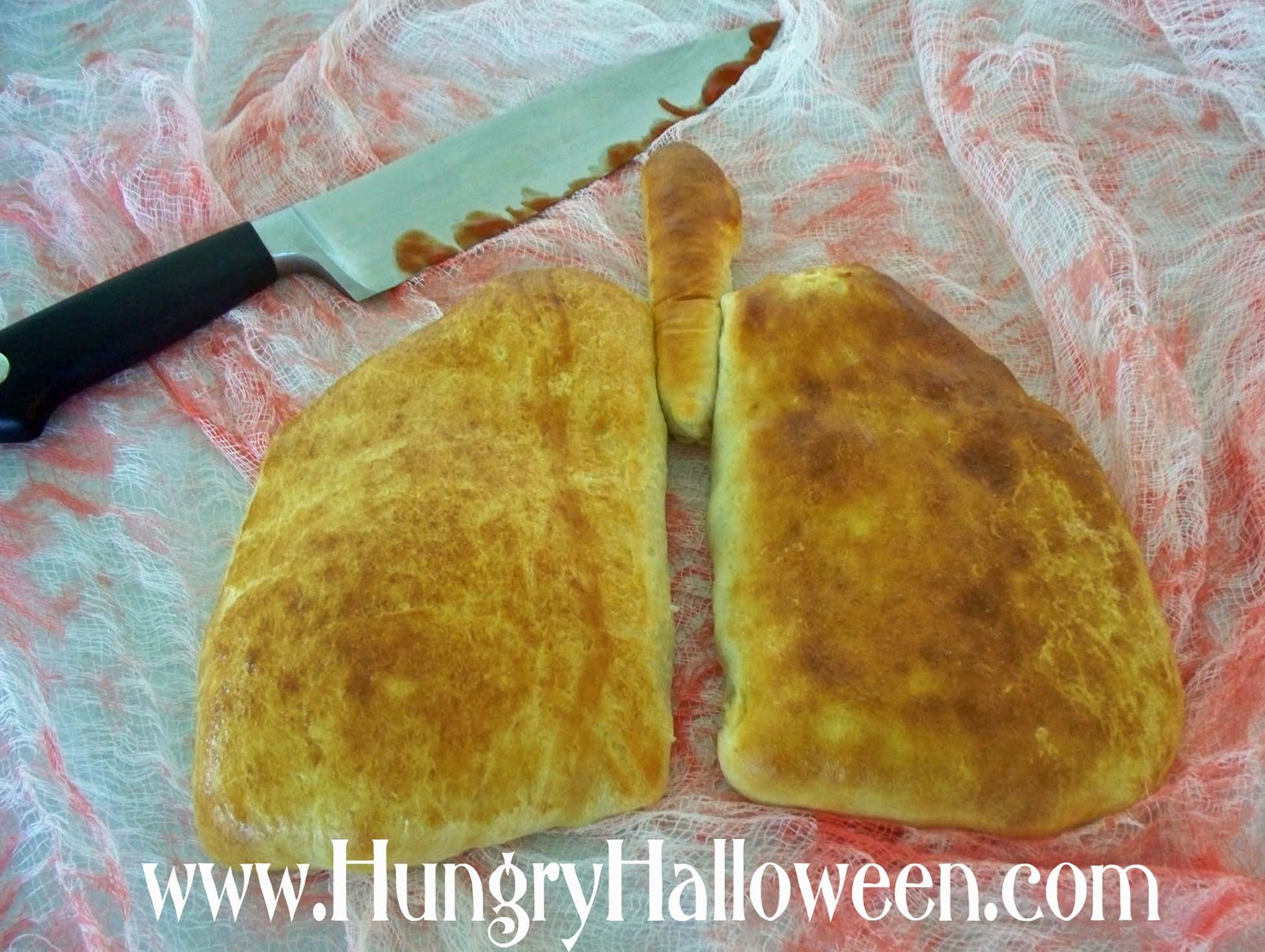 Halloween Recipe - Lung Calzones (Madeira Mushroom Filled Pastries ...