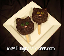 Halloween Recipes - Black Cat Pops