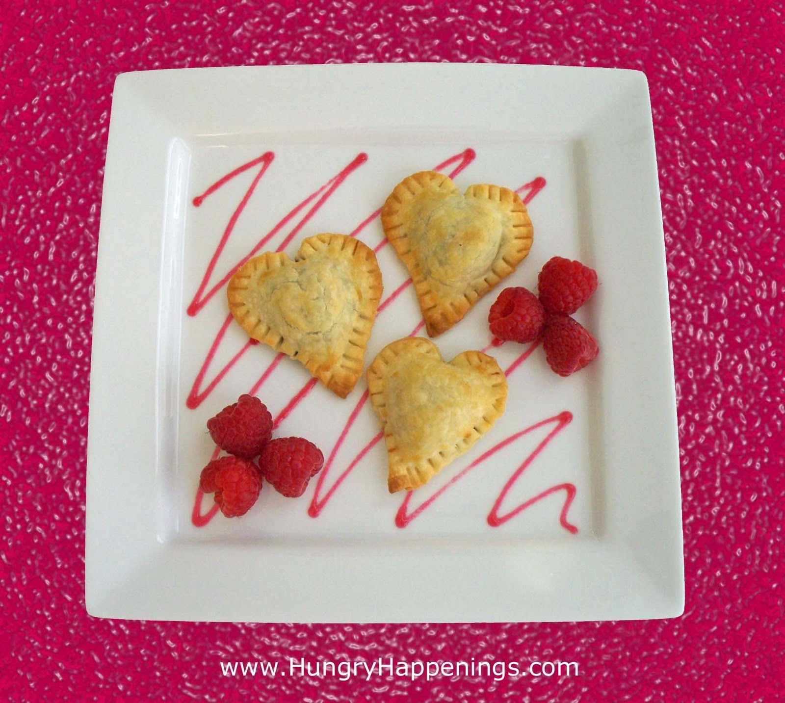 Valentine's Day Recipe - Chocolate Ravioli Hearts - Hungry Happenings
