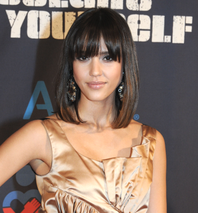 Shoulder-Length Bob Hairstyles with Bangs