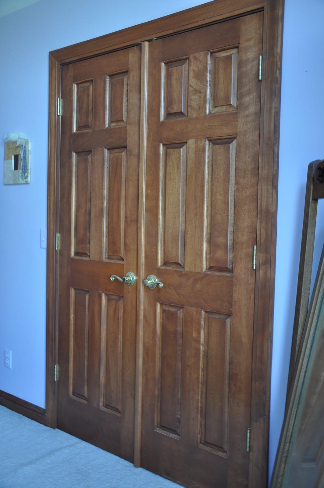 Dark Interior Maple Door