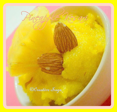 pineapple rava kesari