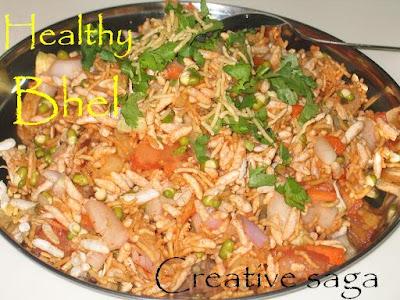 healthy bhel