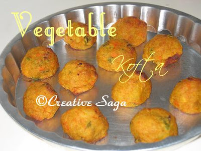 baked vegetable kofta