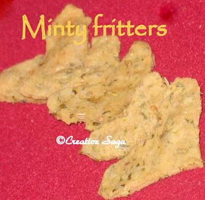 minty fritters