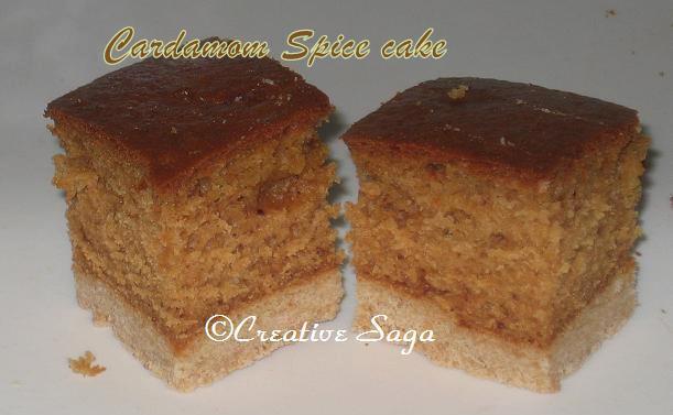 cardamom spiced cake