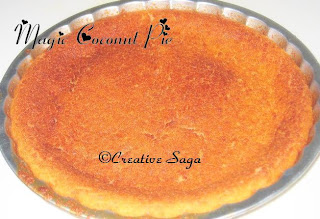 magic coconut pie