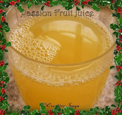 passion fruit juice