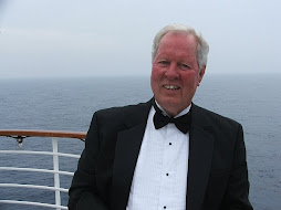 Ted Henley on board ship
