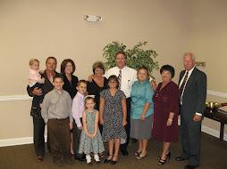 The Stancil Clan at Mother's Funeral