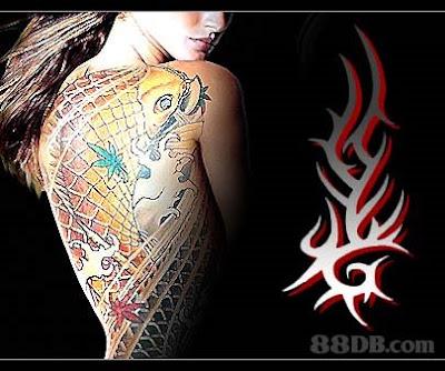 Traditionally tribal tattoos