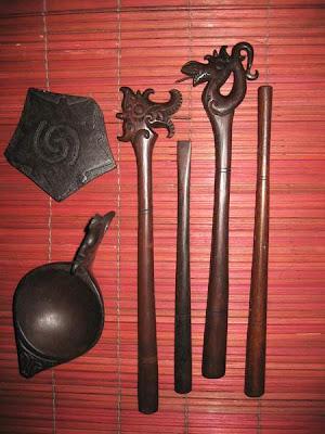 Traditional Tattoo Tool Dayak Boneo