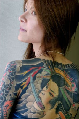 Girls Tattoo Japanese
