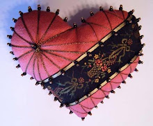 Victorian Heart Pincushion