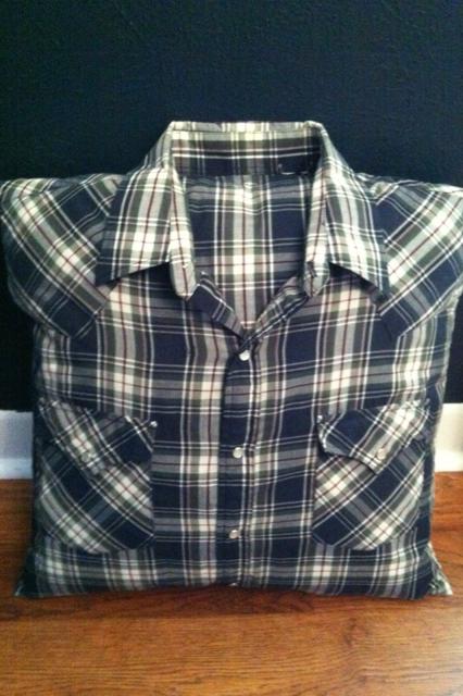 shirt pillow with collar instructions