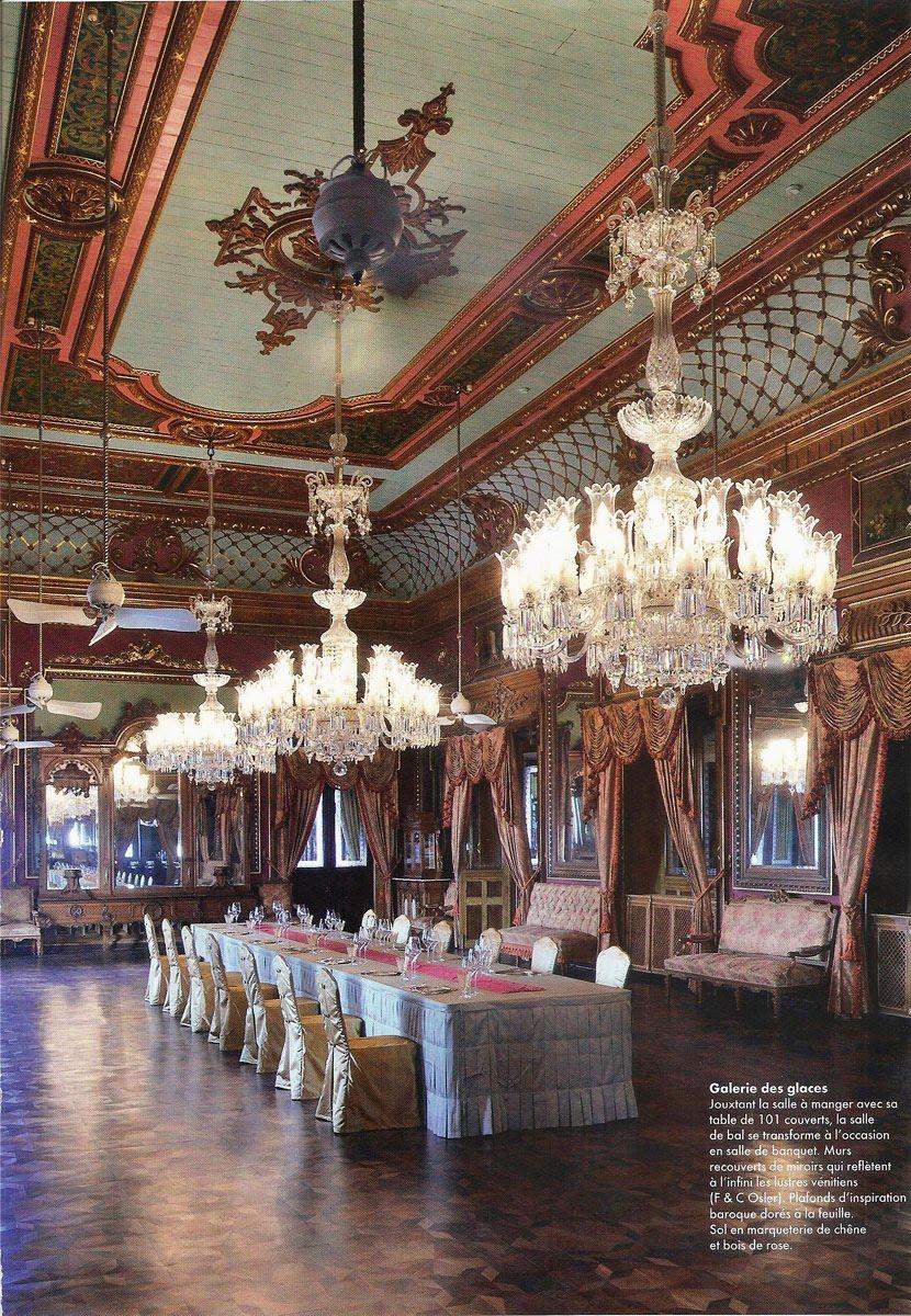 GEORGE Interior Design Au Falaknuma Palace Hyderabad India