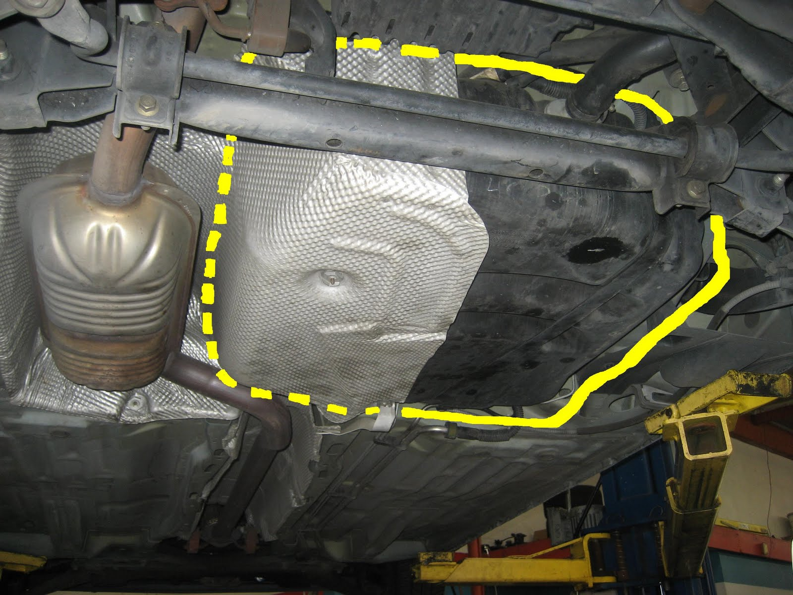 2007 ford focus gas tank