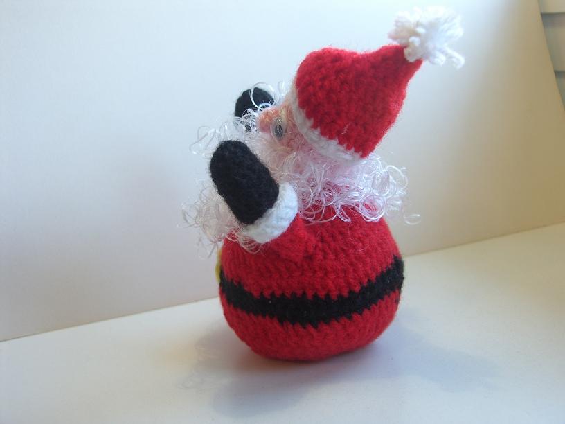 Un miglio di maglia: Babbo Natale Amigurumi