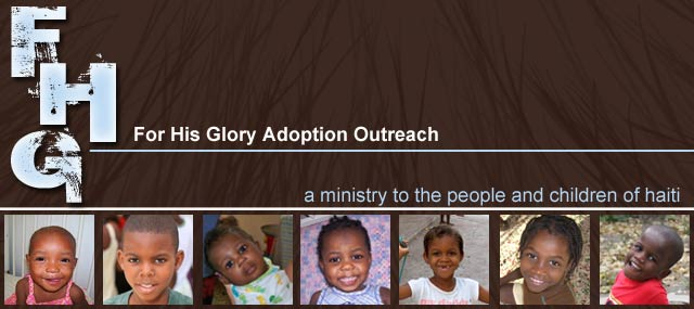 For His Glory Outreach Blog