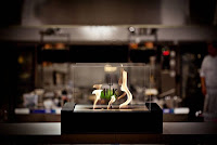 ventless fireplace at Gordon Ramsay show