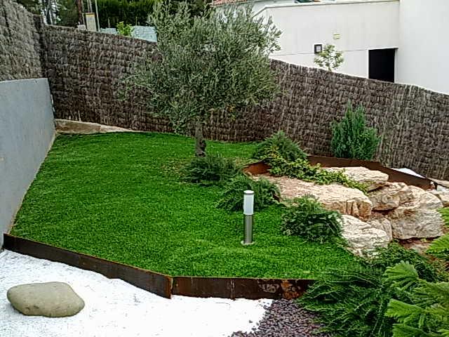 jardineria paisajes, diseÑo y construccion de jardines