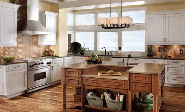 Kitchen Maid Cabinet Colors